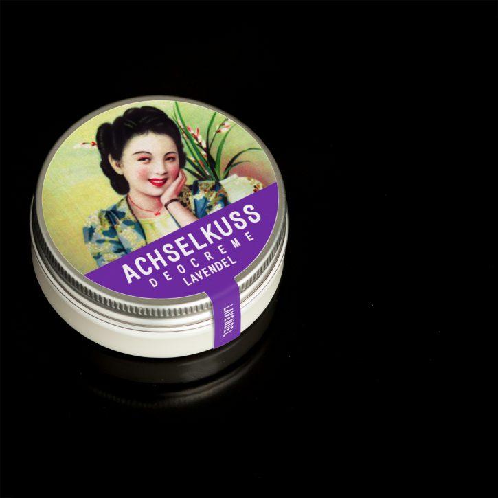 ACHSELKUSS Deocreme Lavendel natürliches Deo aus Österreich