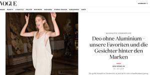 Vogue Deos ohne Aluminium