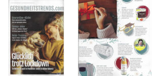 Gesundheitstrends.com Magazin Cover ACHSELKUSS Litsea