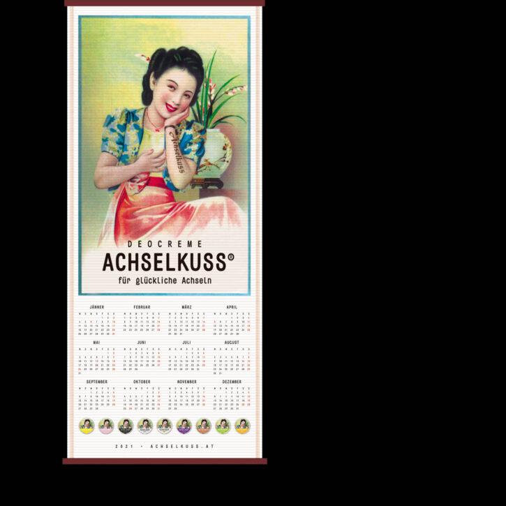 ACHSELKUSS Kalender 2021