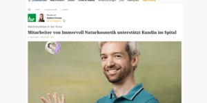 ACHSELKUSS Wiener Bezirkszeitung April 2021