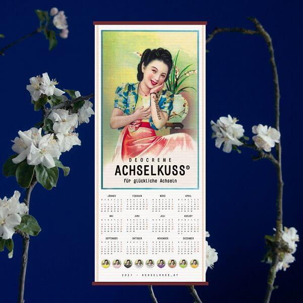 ACHSELKUSS Wandkalender