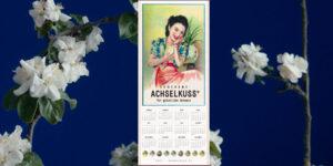 ACHSELKUSS Wandkalender 2021