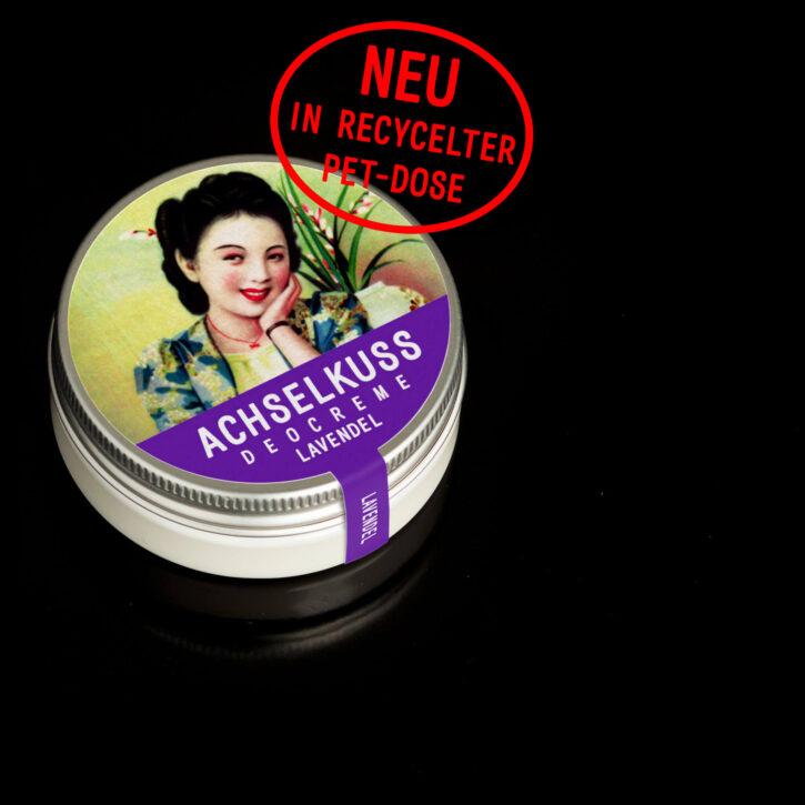 ACHSELKUSS Deocreme Lavendel reycelte PET-Dose online kaufen