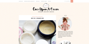 Once upon a cream Best of vegane Deos ACHSELKUSS